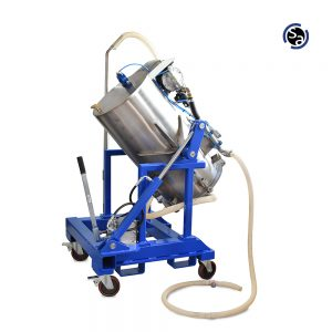 ASPIRATOR FOR CLEANING HYDRAULIC TANKS MOD. A3 120